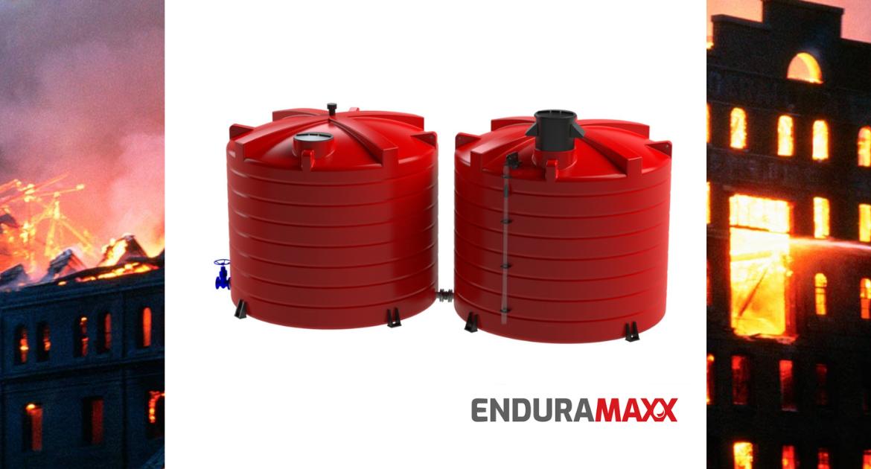 Enduramaxx Fire Fighting Sprinkler Water Tanks