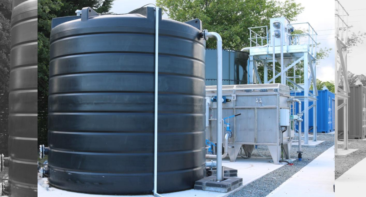 Enduramaxx plastic storage tanks for acids chemicals and process water