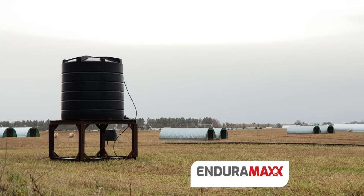 How water regulations affects water storage & management for pigs
