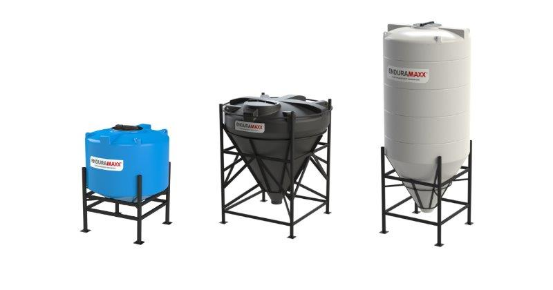 Enduramaxx Conical Plastic Tanks - What are their advantages