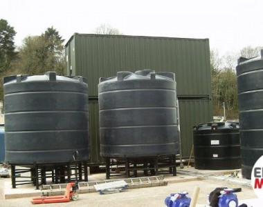 Enduramaxx Conical Settlement Tank UK Manufacturer