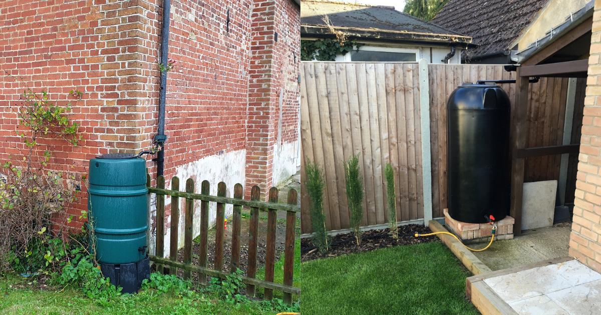 Enduramaxx How to collect rainwater for your garden