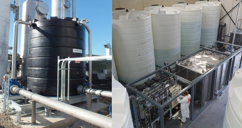 Enduramaxx Process Water Tanks Where are they used