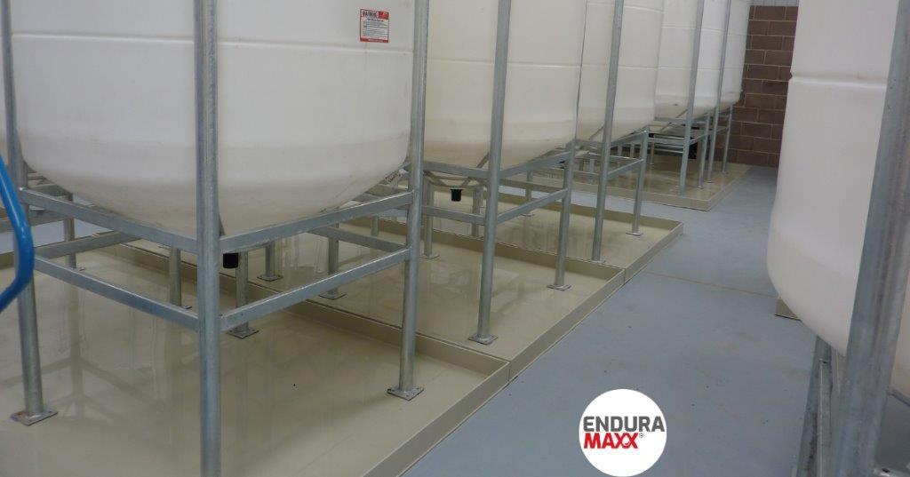 Enduramaxx Bunding Conical Tanks - Why Trays Work