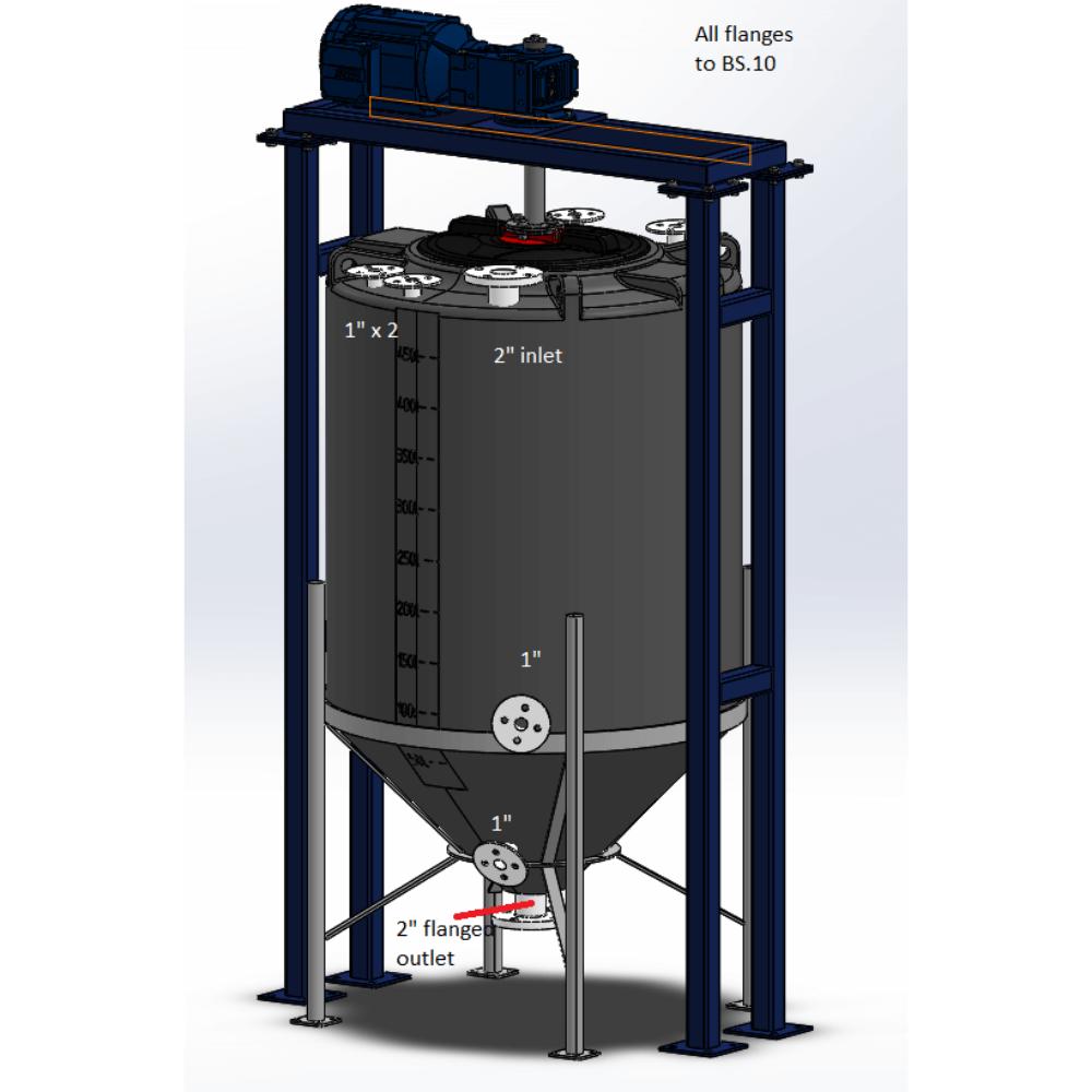 Enduramaxx CIP Clean-In-Place Tank