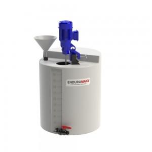 Chemical Mixer Tank With Agitator